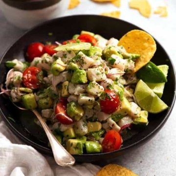 Ceviche, Friday Night Snacks and More...