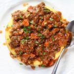 polenta bolognese