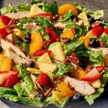 Strawberry Poppyseed Salad with Chicken, Friday Night Snacks and More...