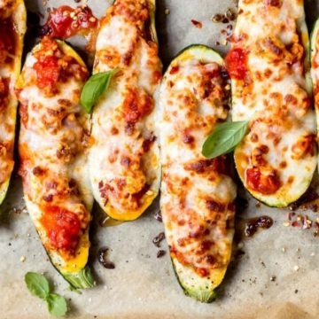Chicken Parmesan Zucchini Boats, Friday Night Snacks and More...
