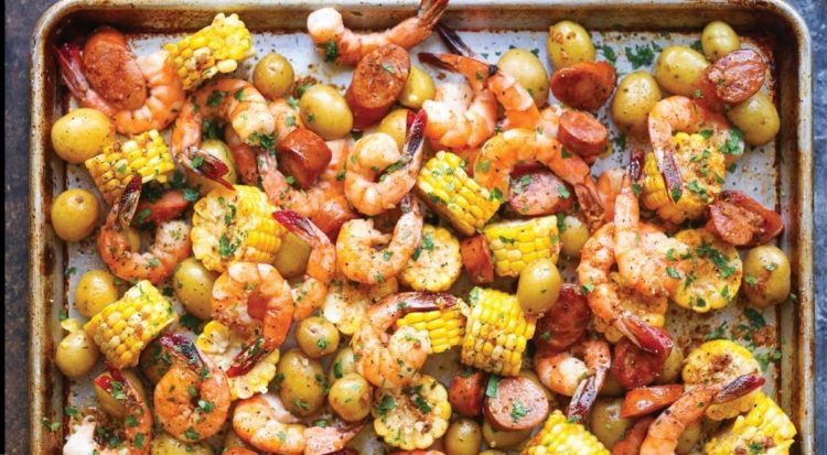 Sheet Pan Shrimp Boil, Friday Night Snacks and More...