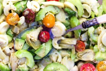 brazillian heart salad