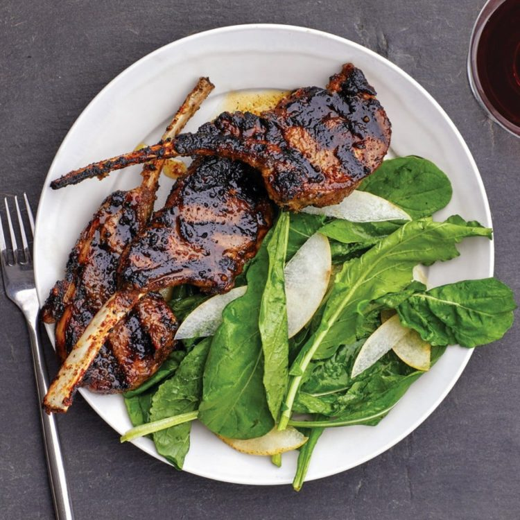 Grilled Lemongrass Lamb Chops, Friday Night Snacks and More...