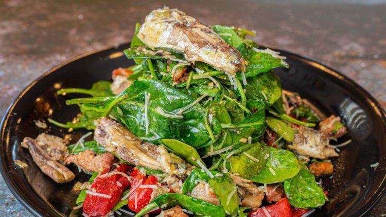 Portuguese Sardine Salad, Friday Night Snacks and More...