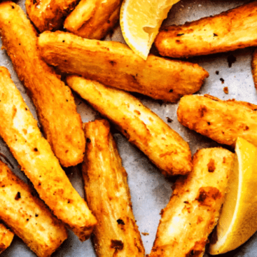 Cuban Fried Yuca Root, Friday Night Snacks and More...