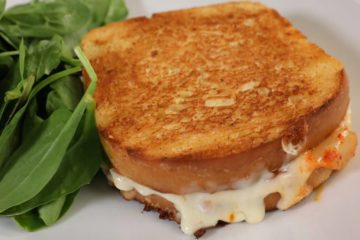 grilled kimichi cheese