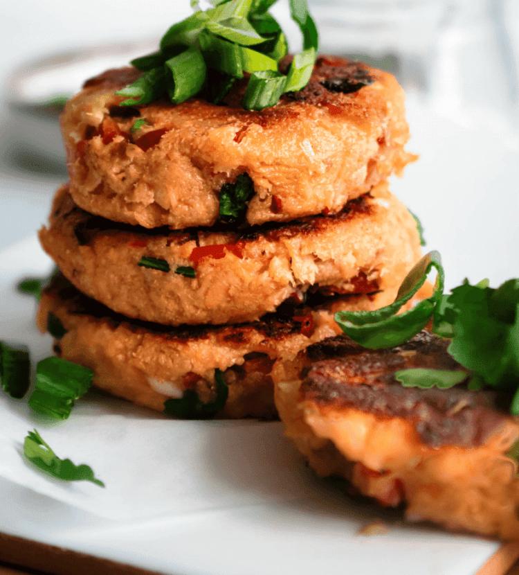 Salmon Patties, Friday Night Snacks and More...