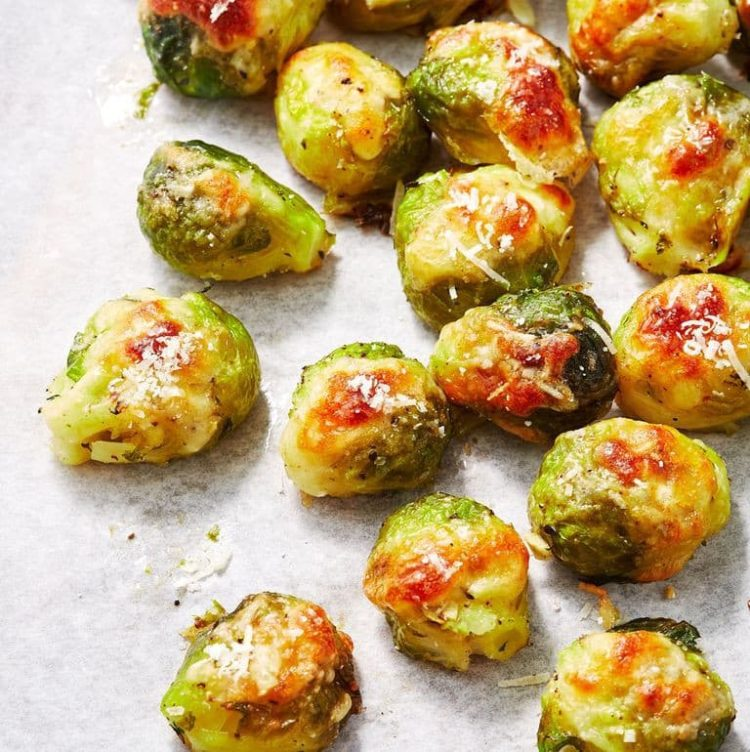 Smashed Brussels Sprouts, Friday Night Snacks and More...